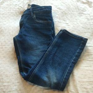 Levi's knit blue jeans boys 10